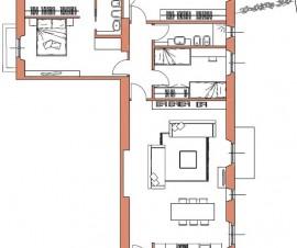 4 locali soggiorno ingresso